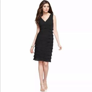 Jones Of New York Size 12 Sleeveless Black Dress
